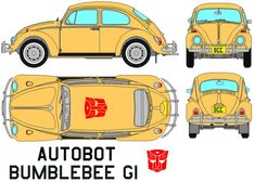 Autobot Bumblebee (G1) Transformers by =bagera3005 on deviantART
