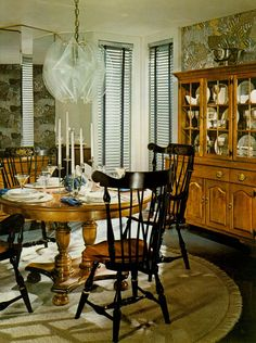 Vintage Ethan Allen Catalog Dining Room A Mix Of Colonial And Modern
