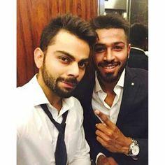 Virat kohli with Mr pandya