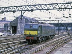 027-10-Guide Bridge-13-7-67-26032 | david.l.quayle | Flickr Electric Locomotive, Diesel Locomotive, Electric Train, Manchester, Around The Worlds, British, Pictures, Train, Drawings
