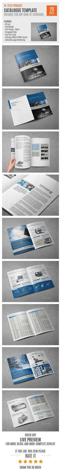 Hi-Tech Products A4 InDesign Catalog Template. Download: http://graphicriver.net/item/hitech-products-a4-indesign-catalog-template/9725562?ref=ksioks