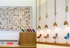 Charlotte Olympia shoe shop by Coupdeville Architects, London