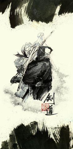Kendo by WUPENG.deviantart.com on @deviantART