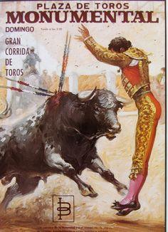 Matador Vintage original spanish bullfighter poster dated 60s