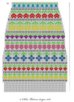 Toinen Knit along -projektikin valmistui.   Näihin kirjoneulesukkiin ilmestyi ohjeenpätkä aina aamuisin 1.-13.3. facebookin    sivuillani (... Knitting Charts, Knitting Socks, Knitting Patterns, Fair Isle Chart, Wool Socks, Knit Or Crochet, Yarn Crafts, Textiles, Design