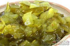 Receita de Doce de mamão verde - Comida e Receitas