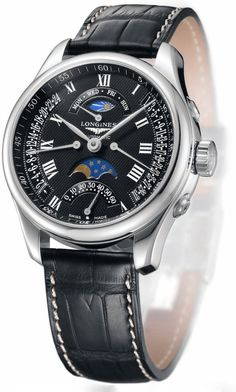Longines Master Collection Retrograde Moon Phases Watch - #watches #luxury
