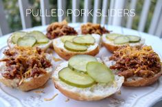 Thinking about what to make for this weekend's big game? check out my new recipe! MorningStar Farms #TailgateWithATwist #SeasonalSolutions #AD Pulled Pork Sliders @morningstarfrms