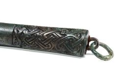 Viking Bronze and Iron Knife, 8th-9th Century