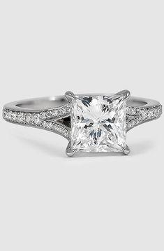2ct Princess Cut Diamond Engagement Ring In 2019 Rings