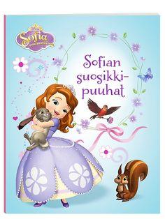 Sofia ensimmäinen, Sofian suosikkipuuhat -puuhakirja tutustuttaa sinut suositun Sofia-prinsessan maailmaan. Piirros- ja väritystehtävien lisäksi mukana on hauskoja etsimis- ja päättelytehtäviä sekä sokkeloita. Piirrä unelmiesi linna ja etsi metsän kätköistä kymmenen eläintä!