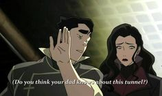 Sometimes, I really don't know if Bolin is serious and really good at acting or if he's really this silly.