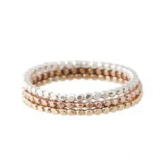 Trio de anéis da Michele Oh! é um bom presente pra dia dos namorados. Ouro rosa, amarelo e branco...