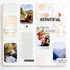 Beautiful Traveler's Notebook Page by Peggy Emmrich | @FelicityJane