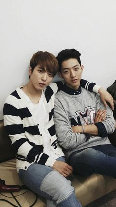 Yonghwa and Jungshin