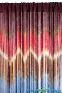 "String Curtain ""IKAT"" 18 Strings Per Inch - 36"" x 88"""