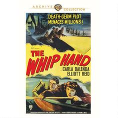 The Whip Hand (1951) Highly recommend as a fan of Raymond Burr, who's masking his menace pretending to be a big goof innkeeper... w/blonde hair! This town's got secrets and everyone's acting suspicious... so odd that vacationing (reporter) fisherman, an affable Elliott Reid, starts wondering what's up and decides to stick around... making the close-lipped denizens pretty nervous! Nice it's released but hope my favorite Burr film save, A Cry in the Night (1956) w/Natalie Wood follows soon!