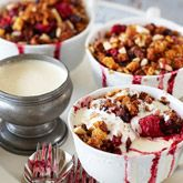 Berry & Apple Crumbles - Coles Recipes & Cooking