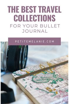 The Bullet Journal collections you absolutely need to plan your next vacation - Petite Mélanie Bullet Journal En Français, Bullet Journal Health, Bullet Journal Goals Page, Bullet Journal Minimalist, Bullet Journal How To Start A, Bullet Journal School, Bullet Journal Spread, Bullet Journals, Voyage Rome