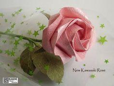 Kade Chan Origami Blog 香港摺紙工作室 (日誌): New Kawasaki  Rose nincs diagram