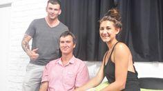 Our team. Brad, Errol & Ashleigh!