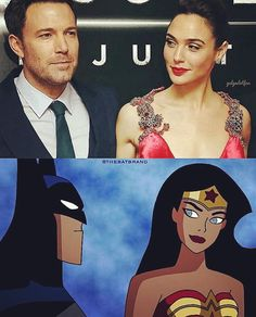 That look she gives you after you said some freaky stuff in her ear. #BATMAN #TheBatman #TheDarkKnight #CapedCrusader #BruceWayne #BenAffleck #WonderWoman #DianaPrince #AmazonianPrincess #GalGadot #DcComics #DcExtendedUniverse