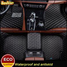 Car floor mats for KIA SPORTAGE R RIO CERATO SEDAN HATCHBACK 2011 2012 2013 2014 2015 2016 3D car-styling carpet liners #Affiliate