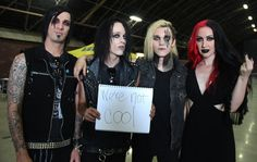 New Years Day want you to know they're not cool.
