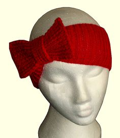 Knitted headbands Can someone teach me how to knit so I can make this