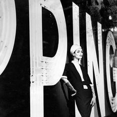 Anne St. Marie, photo by Tom Palumbo, Harper's Bazaar 1958