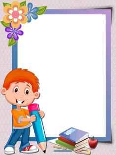 Porfolio in Kindergarten By:Daniel Craig Santos Frame Border Design, Page Borders Design, Frame Vector Free, School Binder Covers, Education Clipart, School Border, Powerpoint Background Design, Art Classroom Management, Boarders And Frames