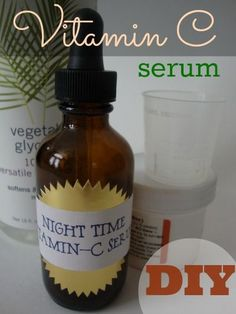 DIY Vitamin C Serum - for more youthful skin!