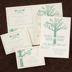 Love Naturally - Sep 'n Send - Ecru | Blissful Gatherings Wedding Invitation