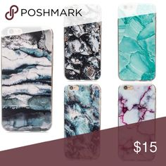 NOW AVAILABLE MARBLE PHONE CASES MARBLE PHONE CASES  - IPhone 6/6S - Rubber/Silicone Case - 20% off when you bundle 2 or more! Leave a comment with your color selection! Boutique Accessories Phone Cases