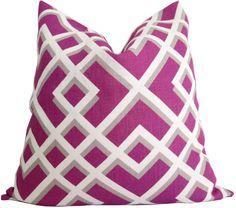 Decorative Pillow Cover  Geometric Design  Pillow by KLineDeco