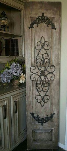 diy repurposed cabinet doors m bel restaurieren restaurieren und drinnen. Black Bedroom Furniture Sets. Home Design Ideas