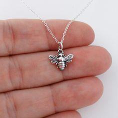 FashionJunkie4Life - Tiny Honey Bee Necklace - 925 Sterling Silver, $16.99 (http://www.fashionjunkie4life.com/tiny-honey-bee-necklace-925-sterling-silver/)