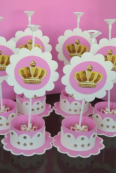 Princess Theme, Baby Shower Princess, Princess Birthday, Baby Shower Deco, Baby Shower Themes, Baby Boy Shower, Fiesta Decorations, Birthday Party Decorations, Baby Shawer