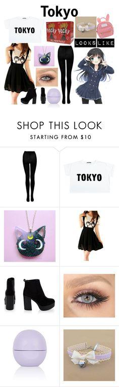 """Tokyo (Hetalia OC)"" by arithegeek11 ❤ liked on Polyvore featuring Topshop and cutekawaii"