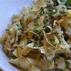 Kohlrabi and Egg Noodles - Allrecipes.com