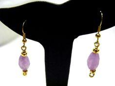 Quartzite Gemstone Earrings £7.00