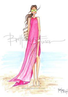 Tropics  -  Rachel Parcell of Pink Peonies [ www.brittanyfuson.com ]
