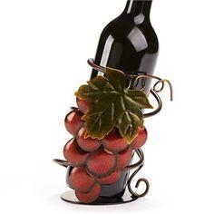 Metal Grape Wine Bottle Holder Wine Bottle Holders, Display, Metal, Floor Space, Billboard, Metals
