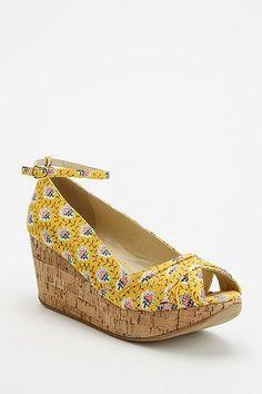 platform wedge sandal  $55