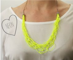 DIY: Neon Necklace  http://www.omiyageblogs.ca/search?updated-max=2012-06-05T12:32:00-04:00=3=9=false#