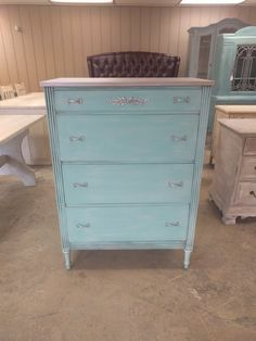 This chest is SO CUTE! It would be perfect in the little ones room don't you think? The dimensions are L, W, H Shabby Chic Chest Of Drawers, Vintage Chest Of Drawers, Dresser, Room, Furniture, Home Decor, Products, Bedroom, Powder Room