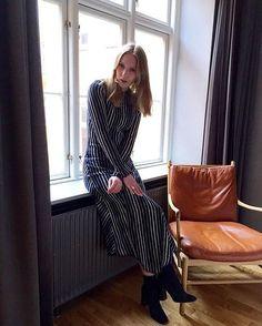"""What's not to love? @carolinaengman wearing the Anilas dress. #bymalenebirger #bmbss16"""