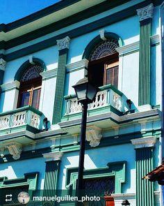 From @manuelguillen_photo: Balconies of #Granada #Nicaragua #ILoveGranada…