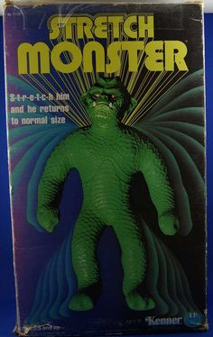 KENNER 1975 Stretch Monster #Vintage #Toys My brother had this!! I was fascinated by it!