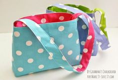 Toddler purse - Easy reversible bag tutorial - makeit-loveit.com